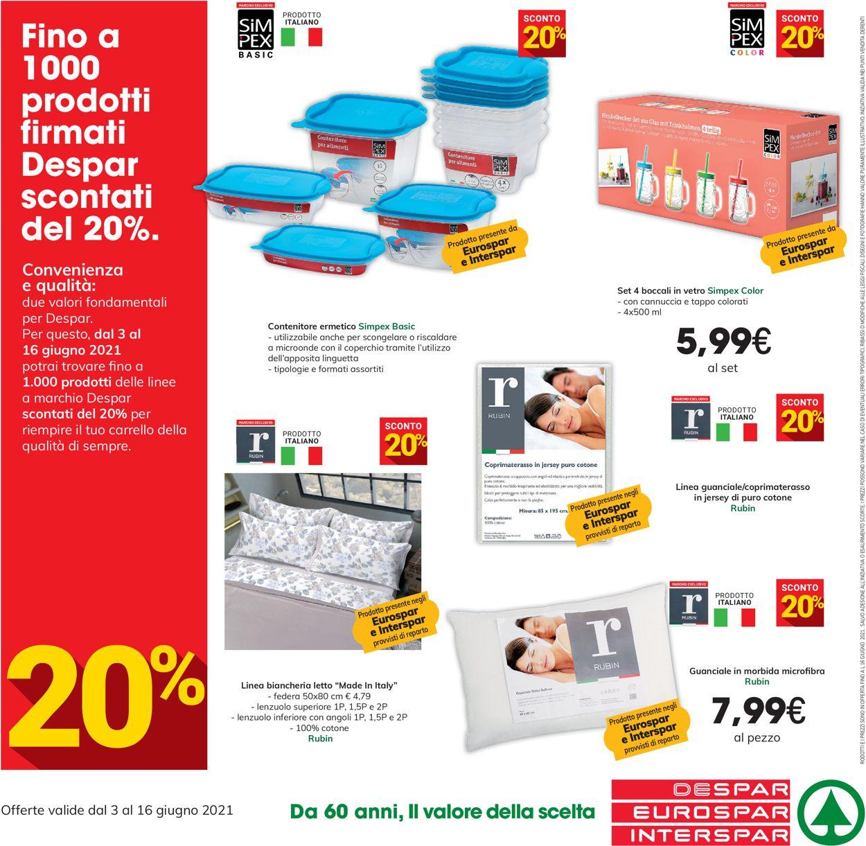 Volantino Interspar - Offerte 03/06-16/06/2021 (Pagina 16)