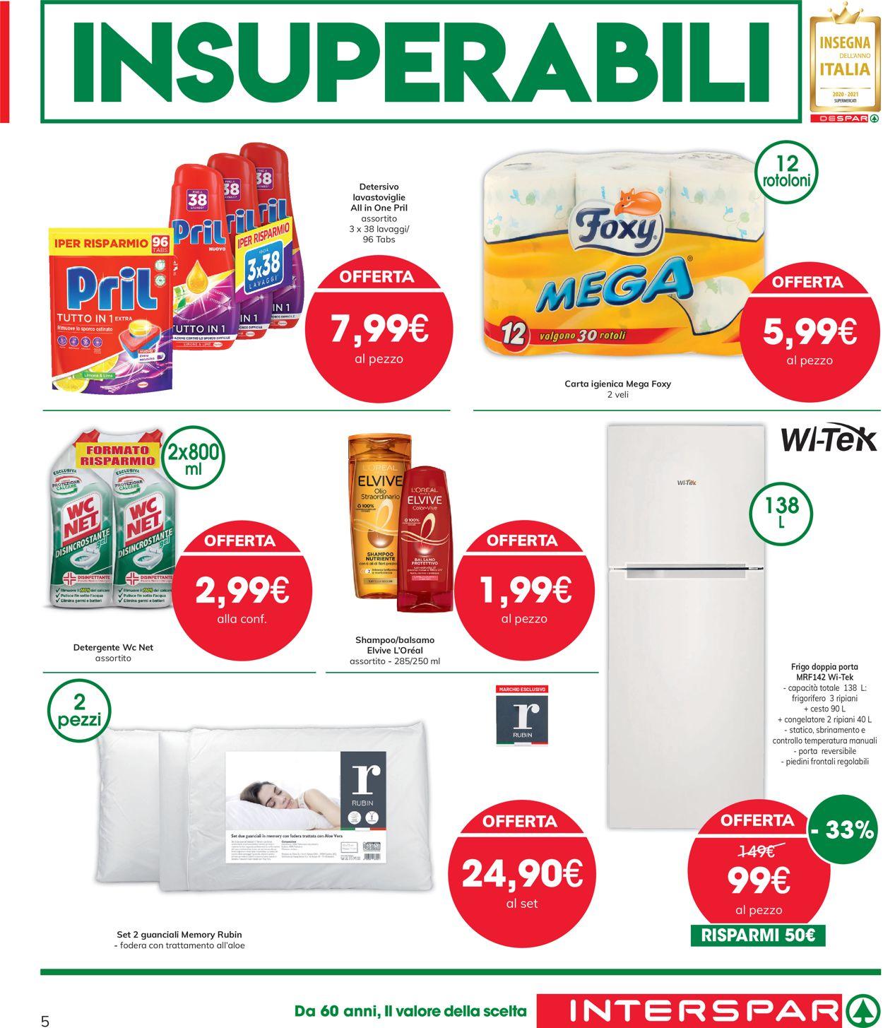 Volantino Interspar - Offerte 10/06-23/06/2021 (Pagina 5)