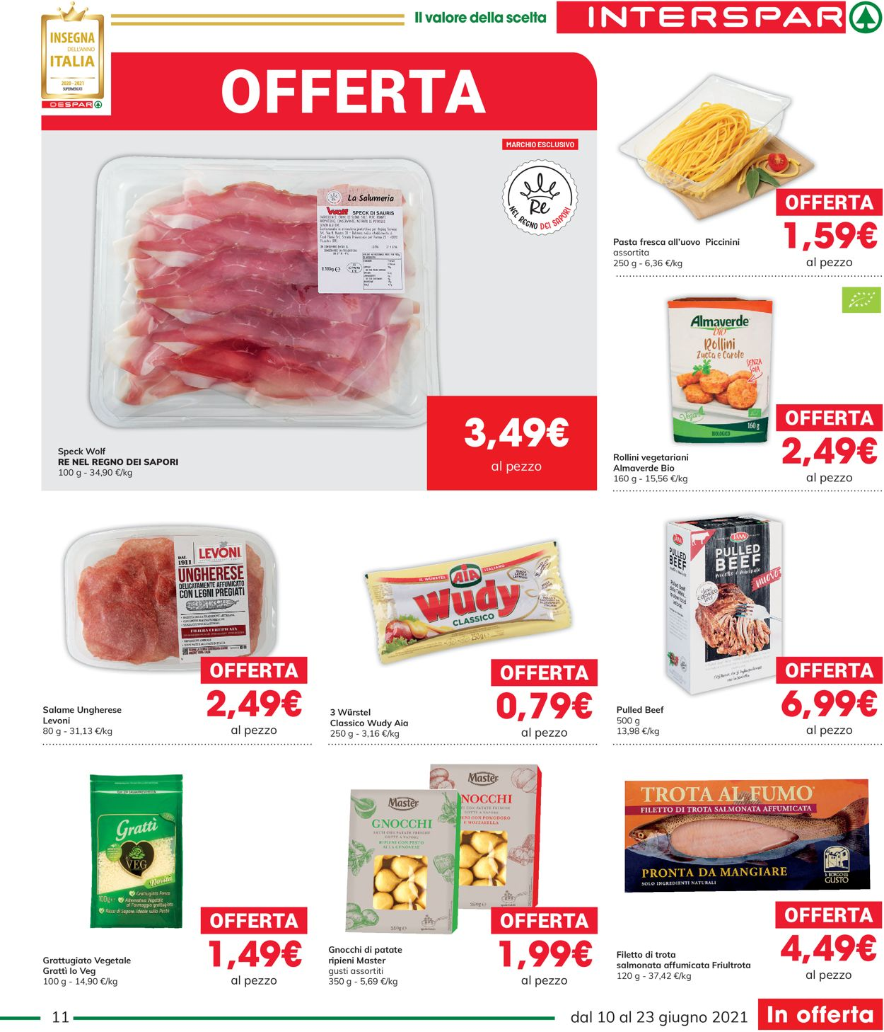 Volantino Interspar - Offerte 10/06-23/06/2021 (Pagina 11)