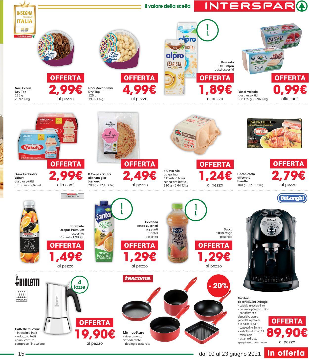 Volantino Interspar - Offerte 10/06-23/06/2021 (Pagina 15)