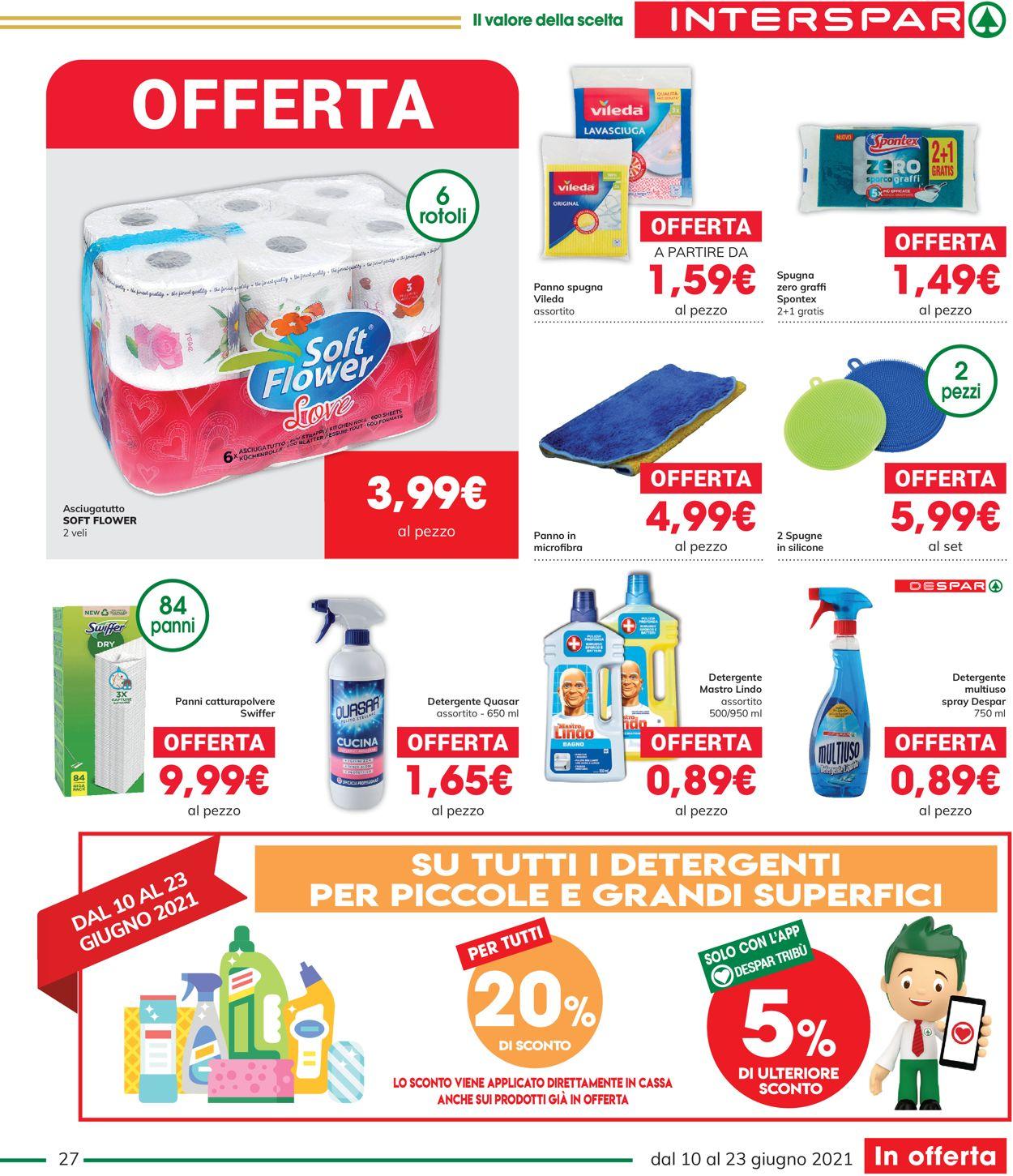 Volantino Interspar - Offerte 10/06-23/06/2021 (Pagina 27)