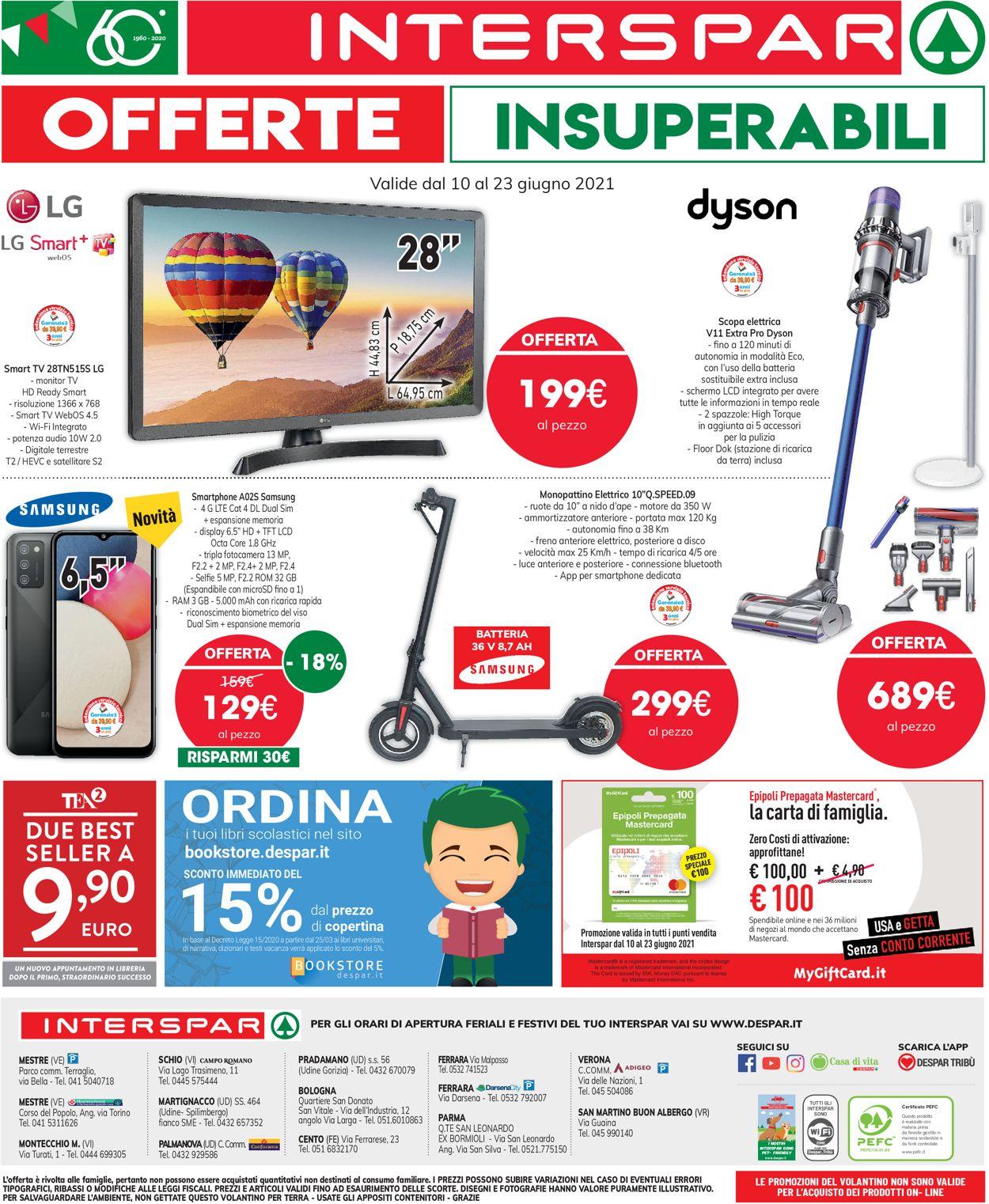 Volantino Interspar - Offerte 10/06-23/06/2021 (Pagina 32)