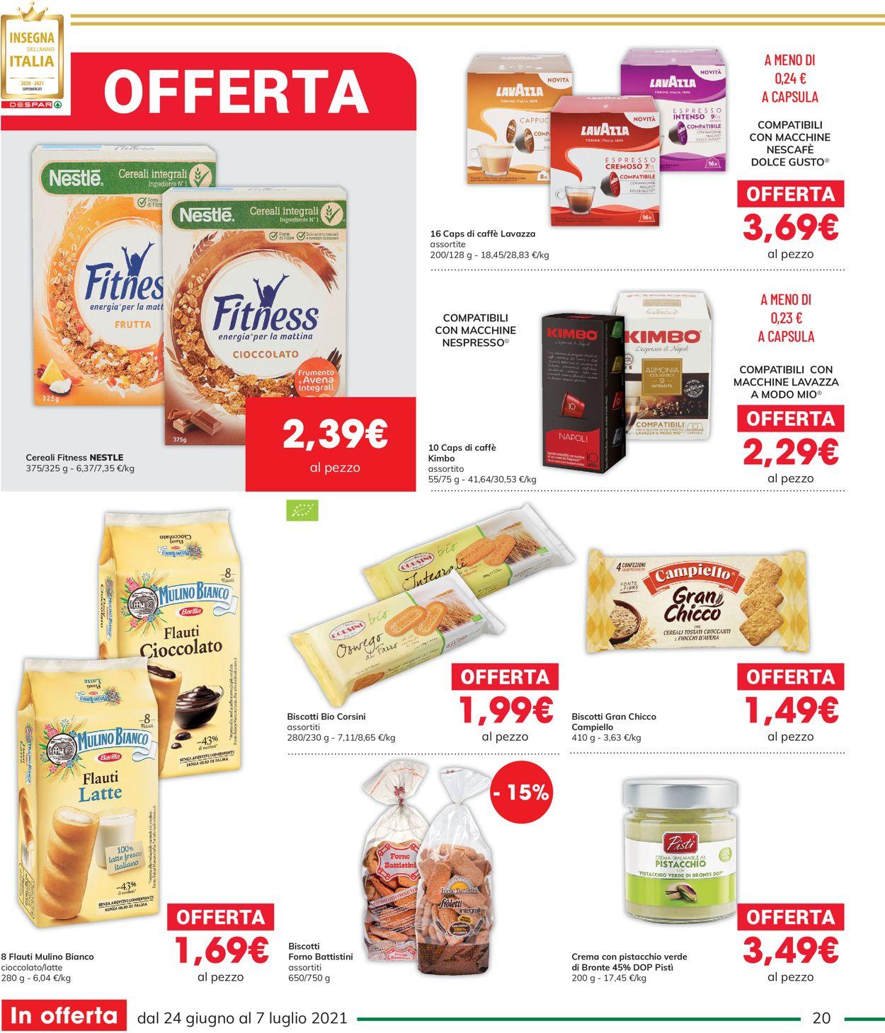 Volantino Interspar - Offerte 24/06-07/07/2021 (Pagina 20)