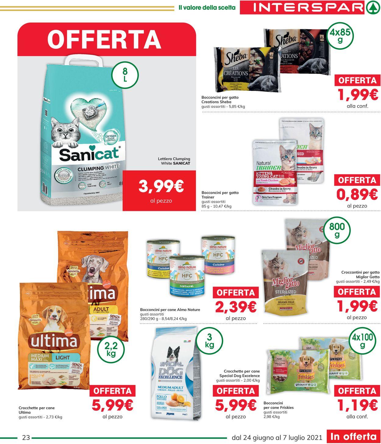 Volantino Interspar - Offerte 24/06-07/07/2021 (Pagina 23)