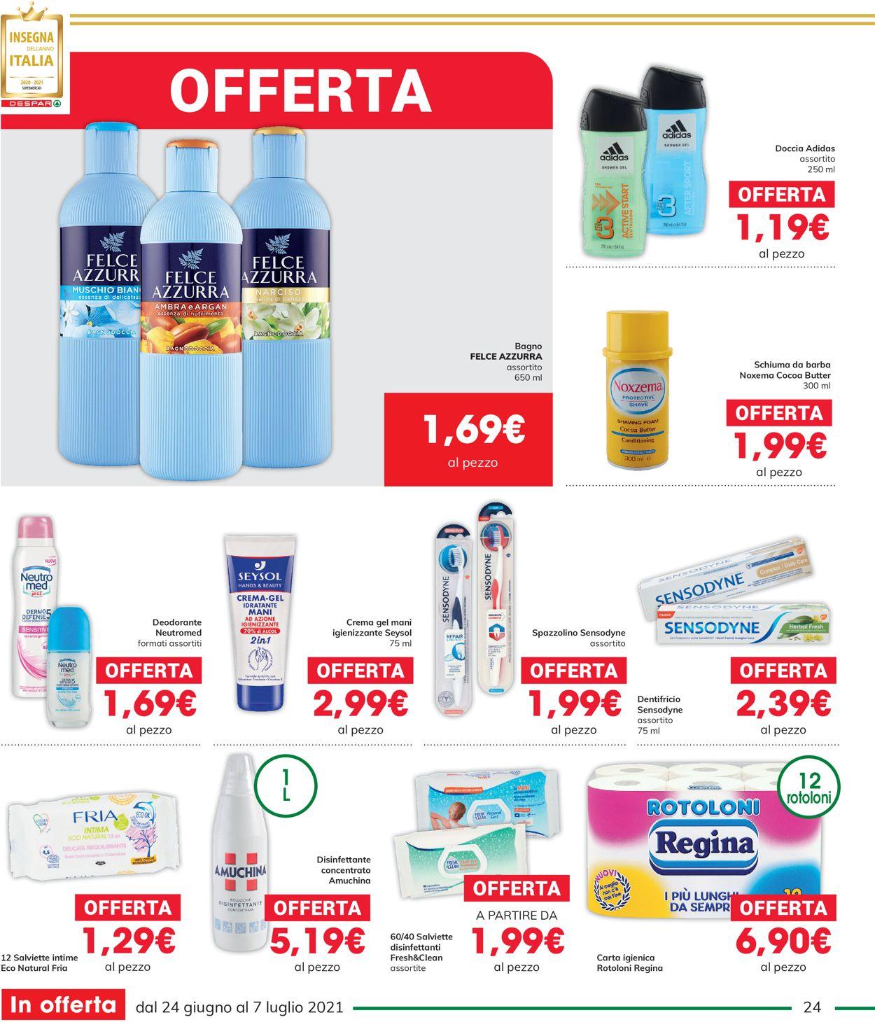 Volantino Interspar - Offerte 24/06-07/07/2021 (Pagina 24)