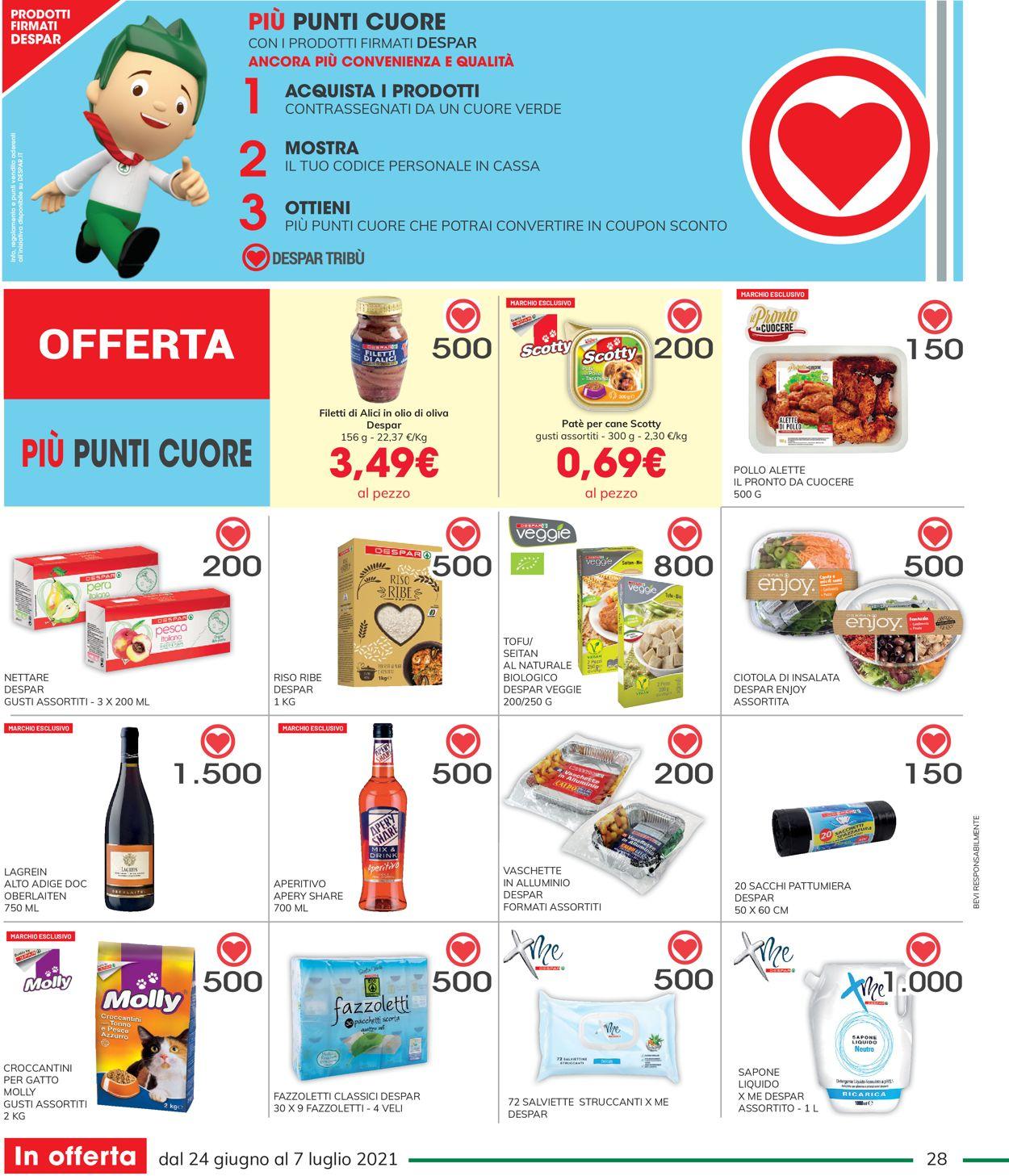 Volantino Interspar - Offerte 24/06-07/07/2021 (Pagina 28)