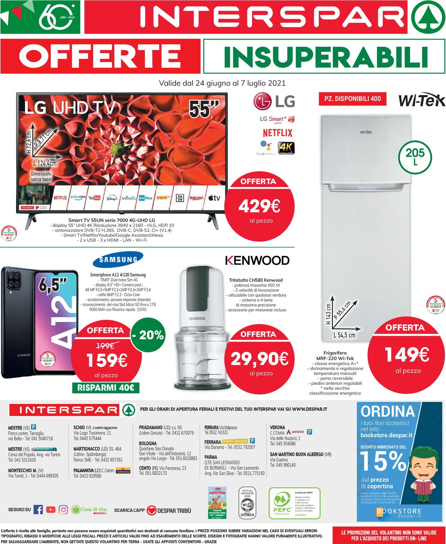 Volantino Interspar - Offerte 24/06-07/07/2021 (Pagina 32)