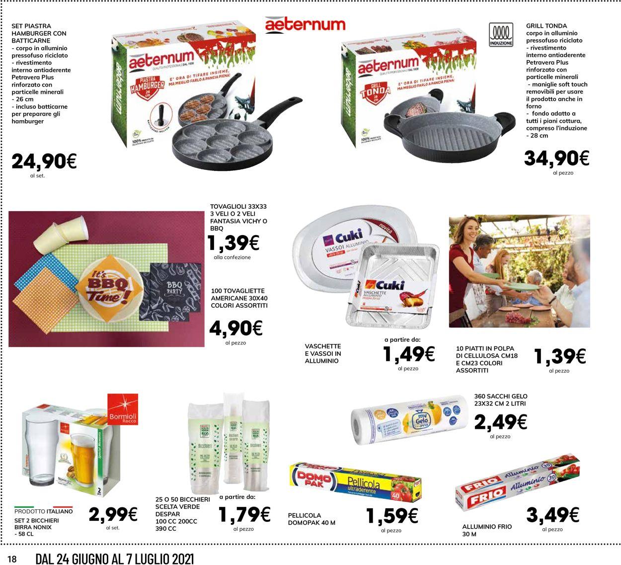 Volantino Interspar - Offerte 24/06-07/07/2021 (Pagina 18)