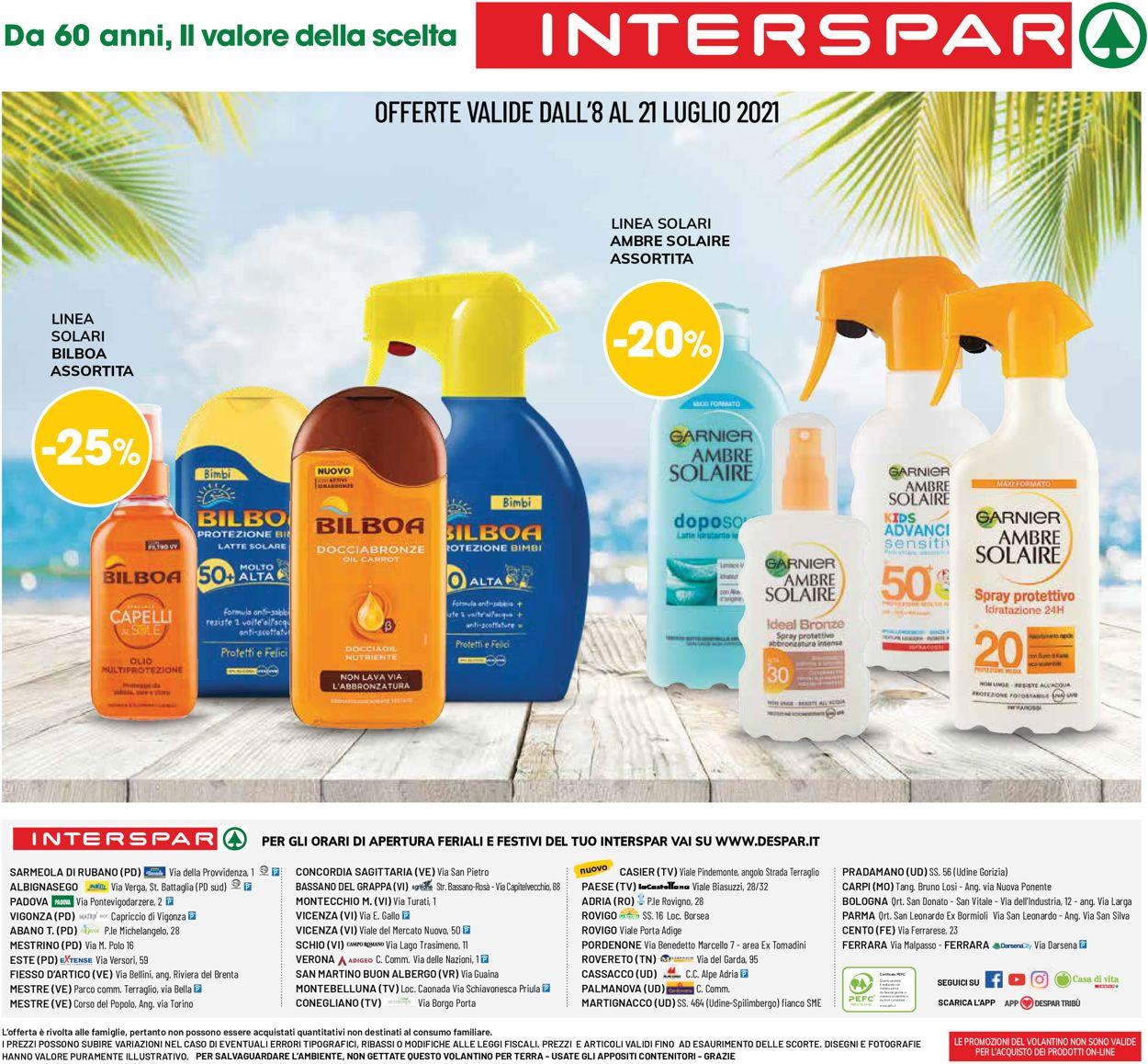 Volantino Interspar - Offerte 08/07-21/07/2021 (Pagina 8)