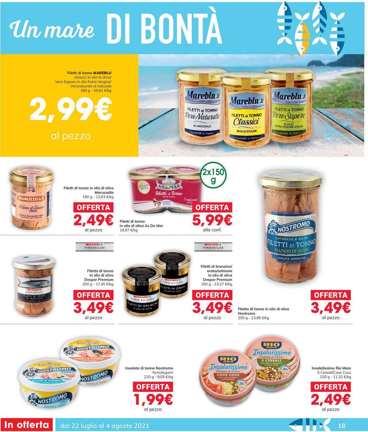 Volantino Interspar - Offerte 22/07-04/08/2021 (Pagina 18)