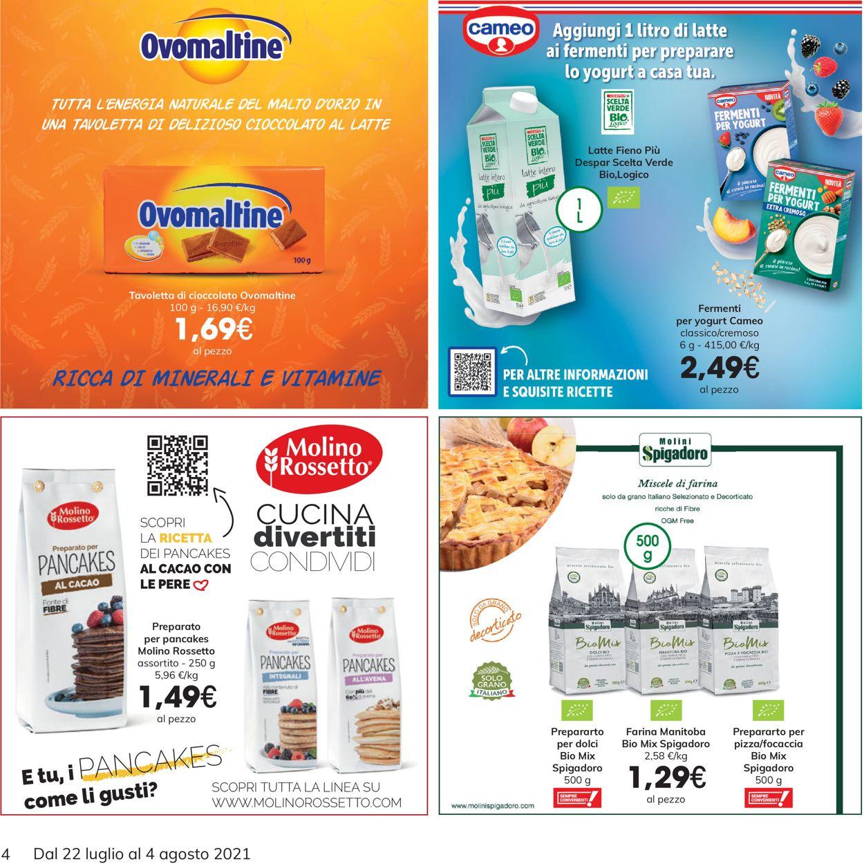Volantino Interspar - Offerte 22/07-04/08/2021 (Pagina 4)