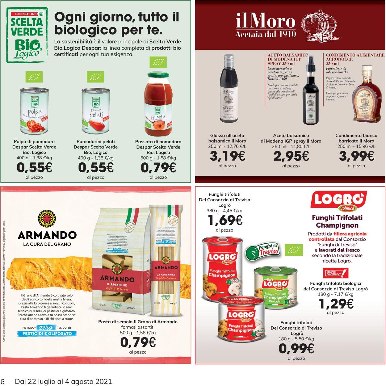 Volantino Interspar - Offerte 22/07-04/08/2021 (Pagina 6)