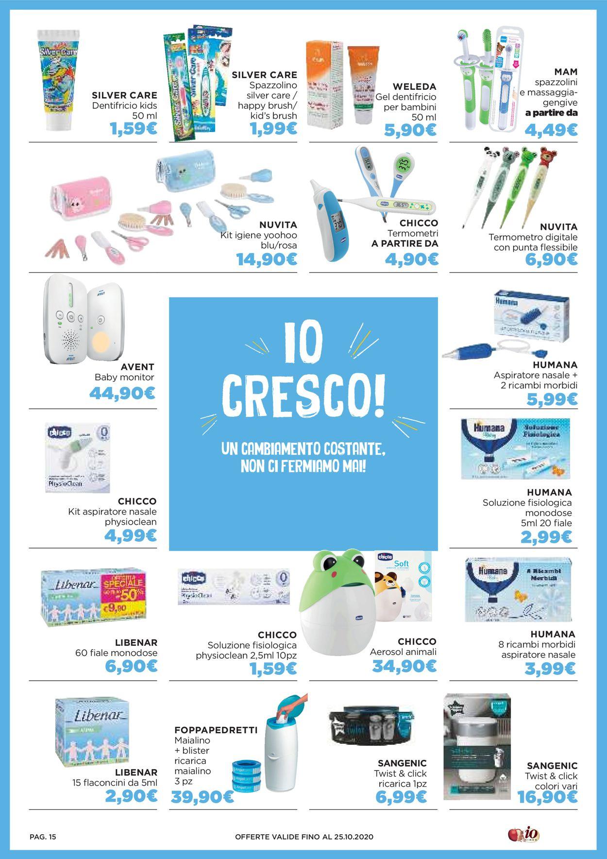 Volantino Io Bimbo - Offerte 05/10-25/10/2020 (Pagina 15)