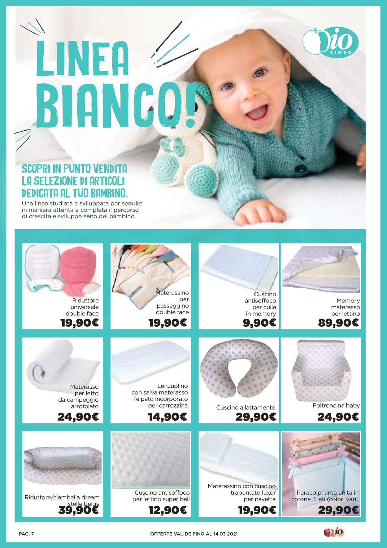 Volantino Io Bimbo - Offerte 19/02-14/03/2021 (Pagina 7)