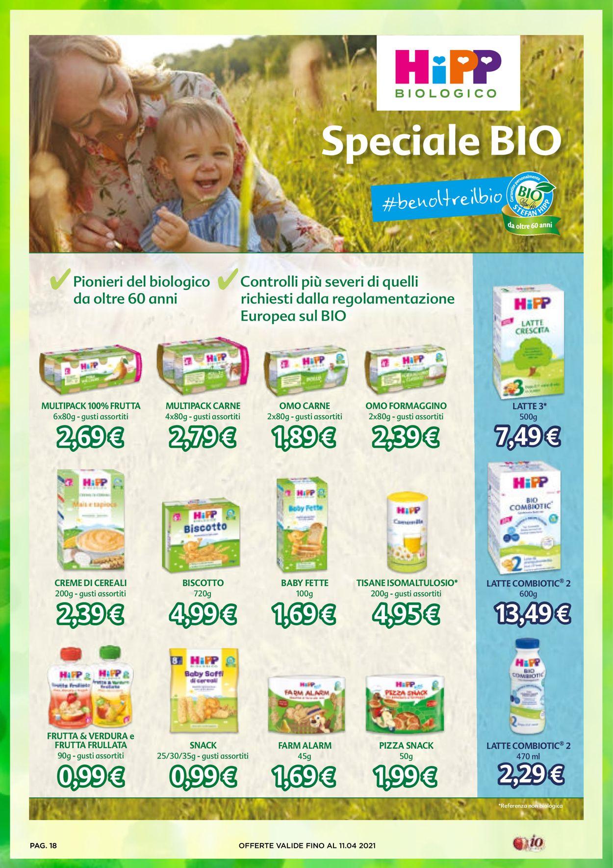 Volantino Io Bimbo - Offerte 25/03-11/04/2021 (Pagina 18)
