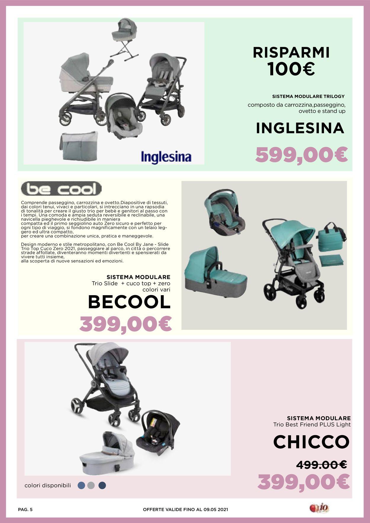Volantino Io Bimbo - Offerte 23/04-09/05/2021 (Pagina 5)