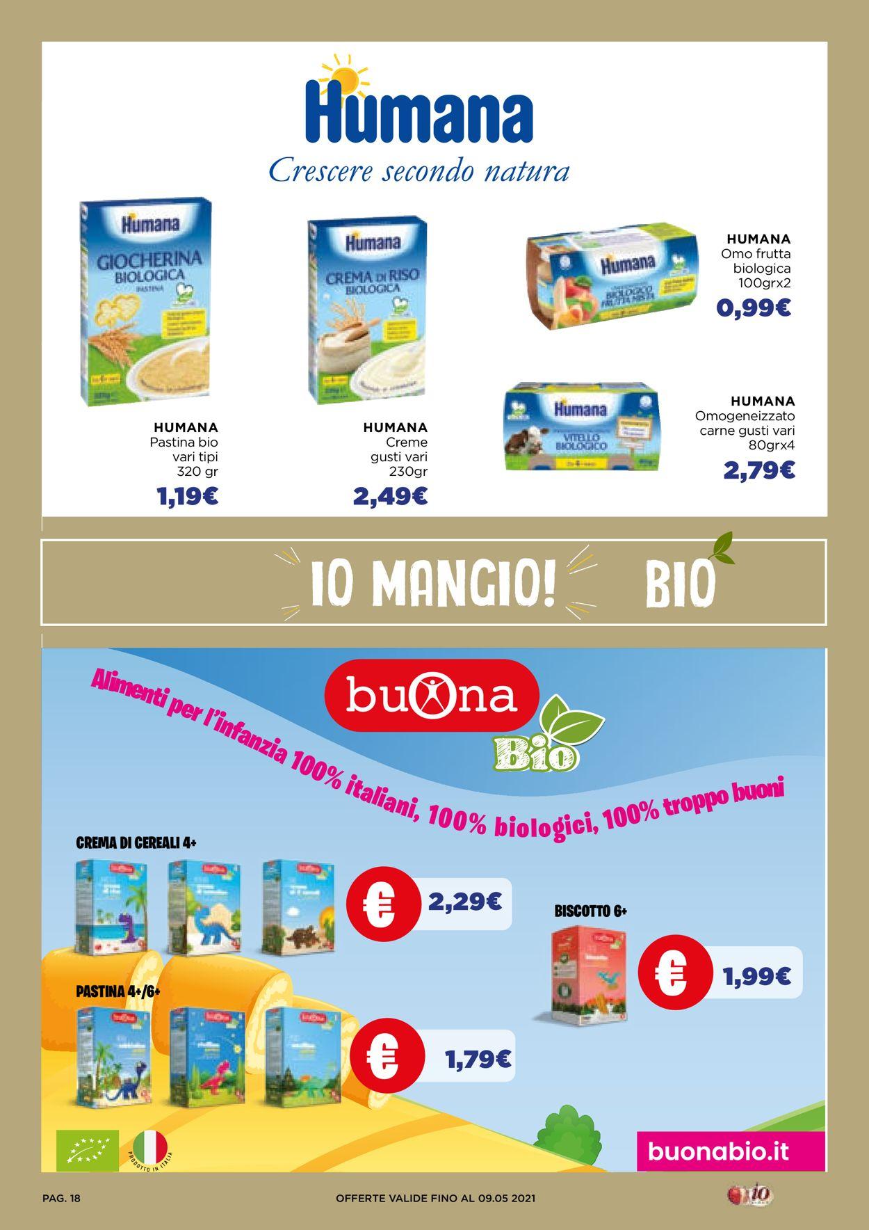 Volantino Io Bimbo - Offerte 23/04-09/05/2021 (Pagina 18)