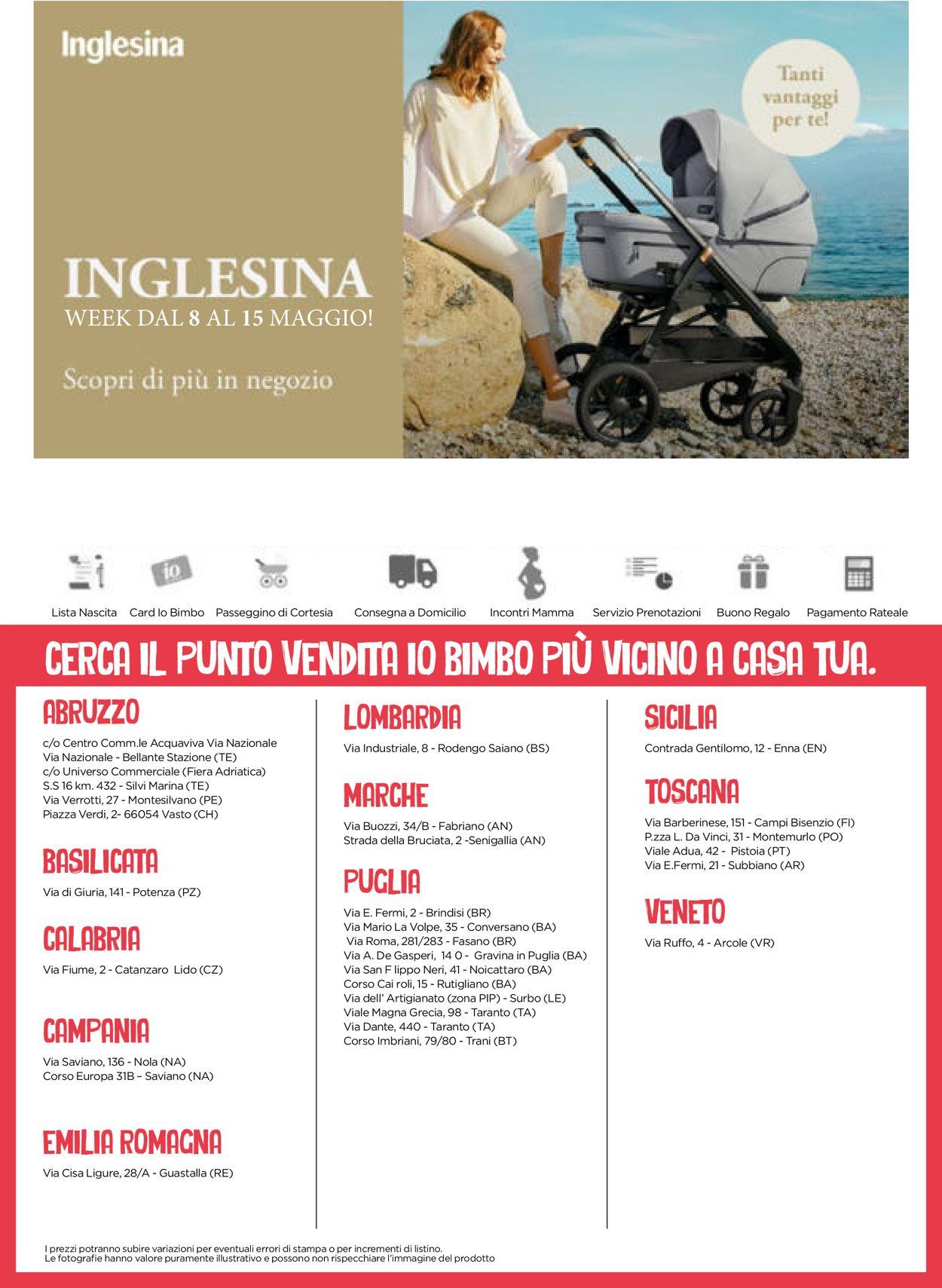 Volantino Io Bimbo - Offerte 23/04-09/05/2021 (Pagina 24)