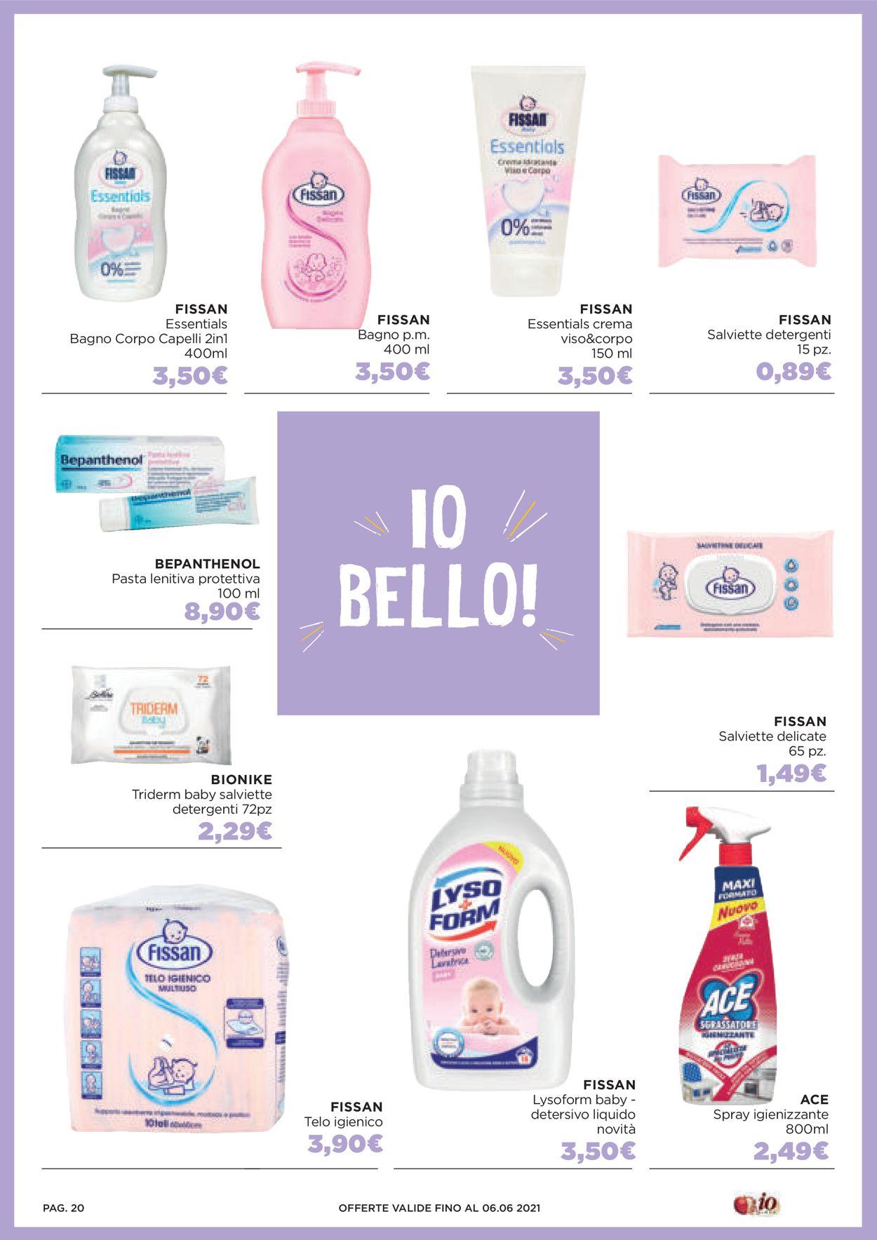 Volantino Io Bimbo - Offerte 21/05-06/06/2021 (Pagina 20)