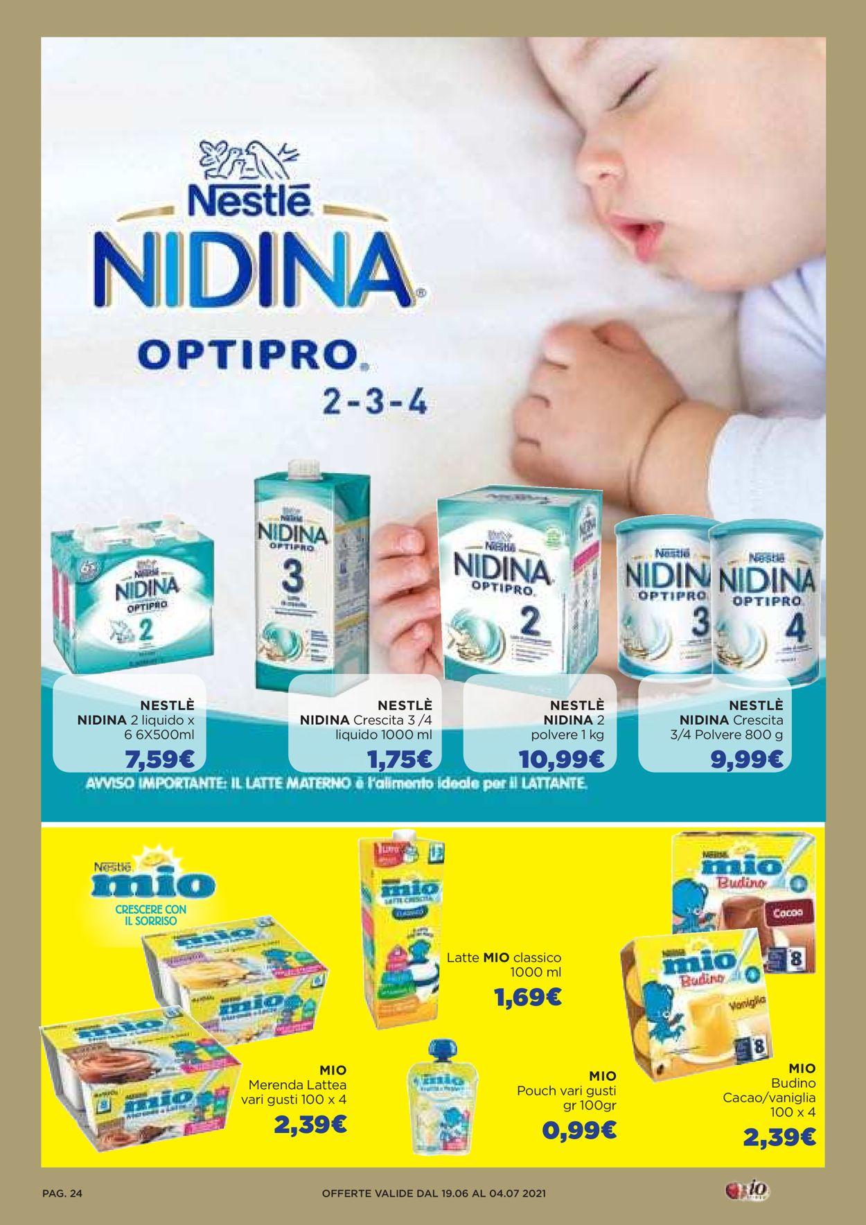 Volantino Io Bimbo - Offerte 19/06-04/07/2021 (Pagina 24)