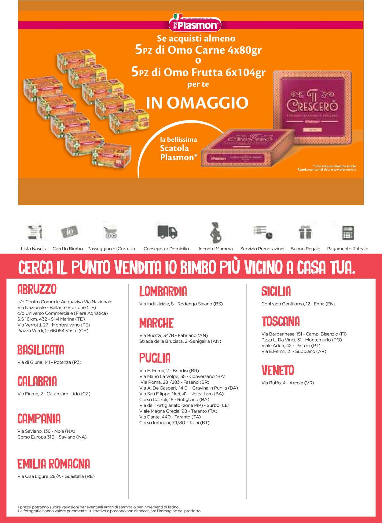 Volantino Io Bimbo - Offerte 19/06-04/07/2021 (Pagina 31)