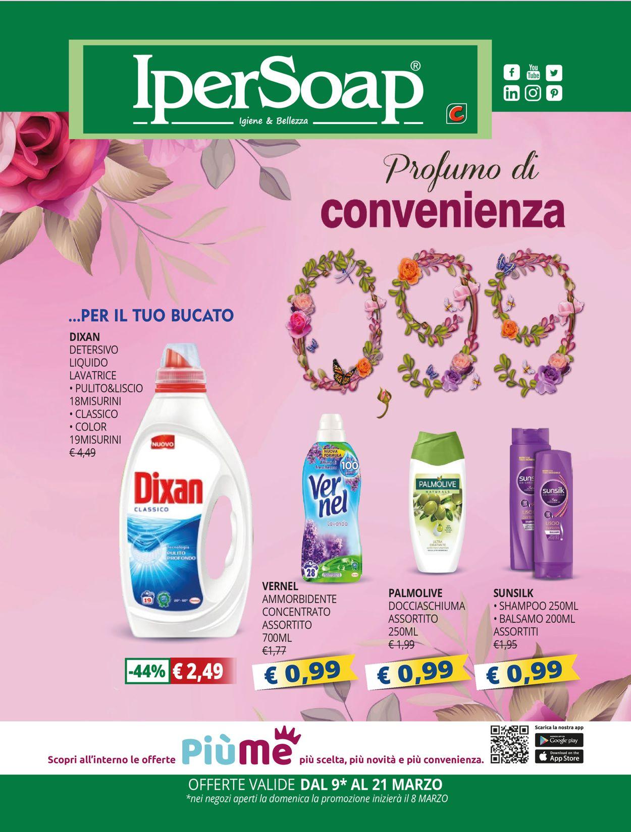 Volantino IperSoap - Offerte 08/03-21/03/2020