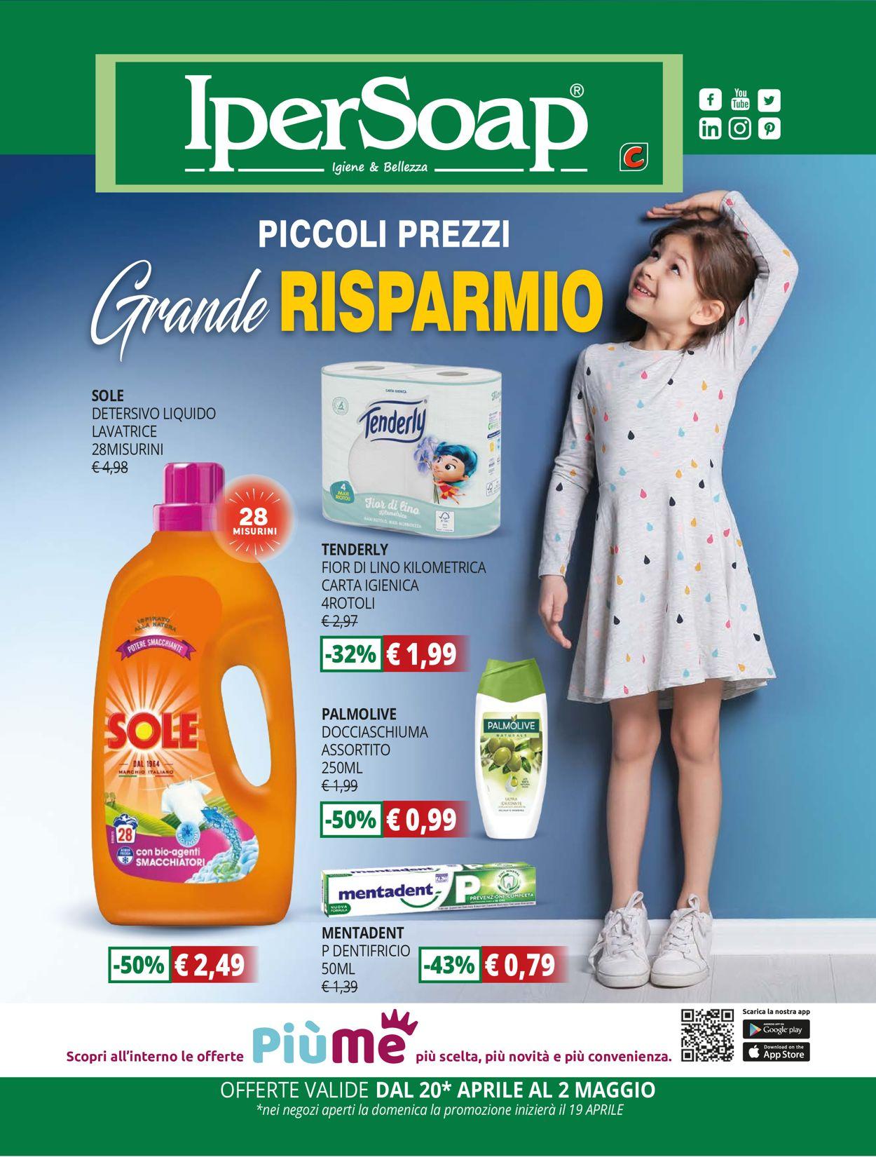 Volantino IperSoap - Offerte 20/04-02/05/2020