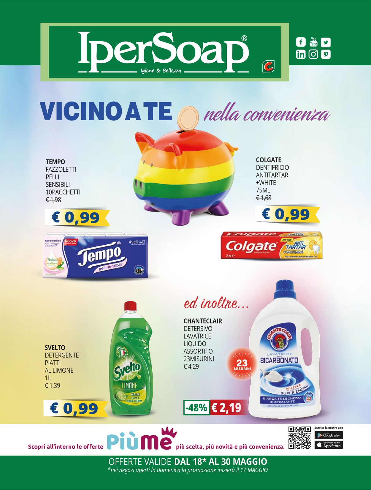 Volantino IperSoap - Offerte 18/05-30/05/2020