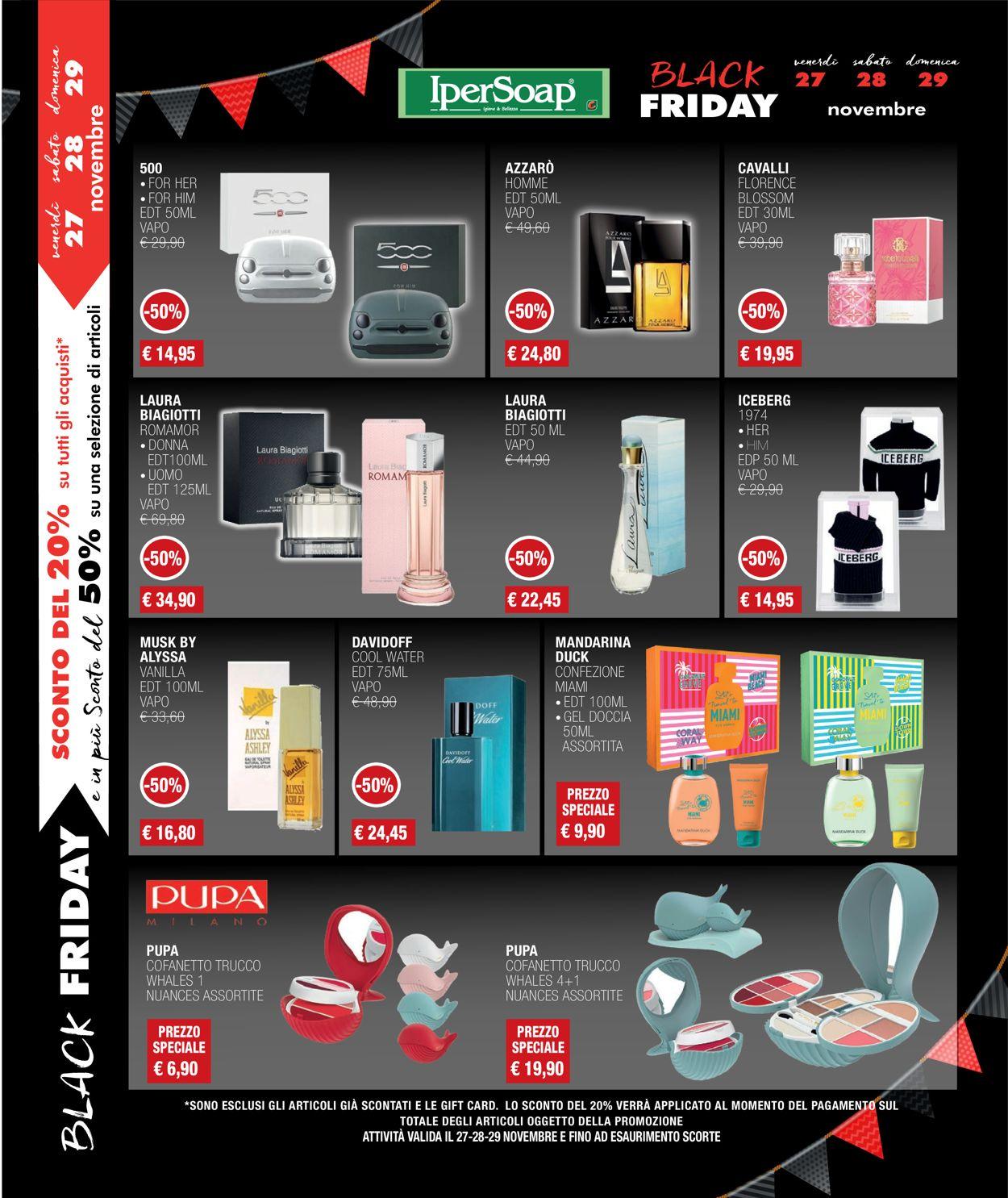 Volantino IperSoap - Black Friday 2020 - Offerte 15/11-26/11/2020 (Pagina 12)