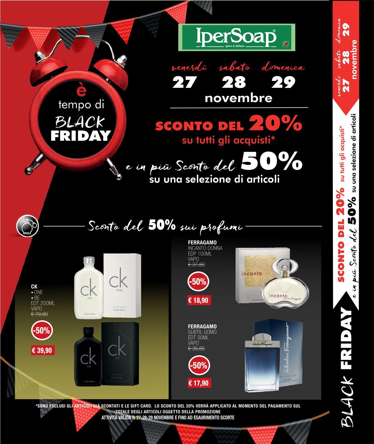 Volantino IperSoap - Black Friday 2020 - Offerte 27/11-29/11/2020