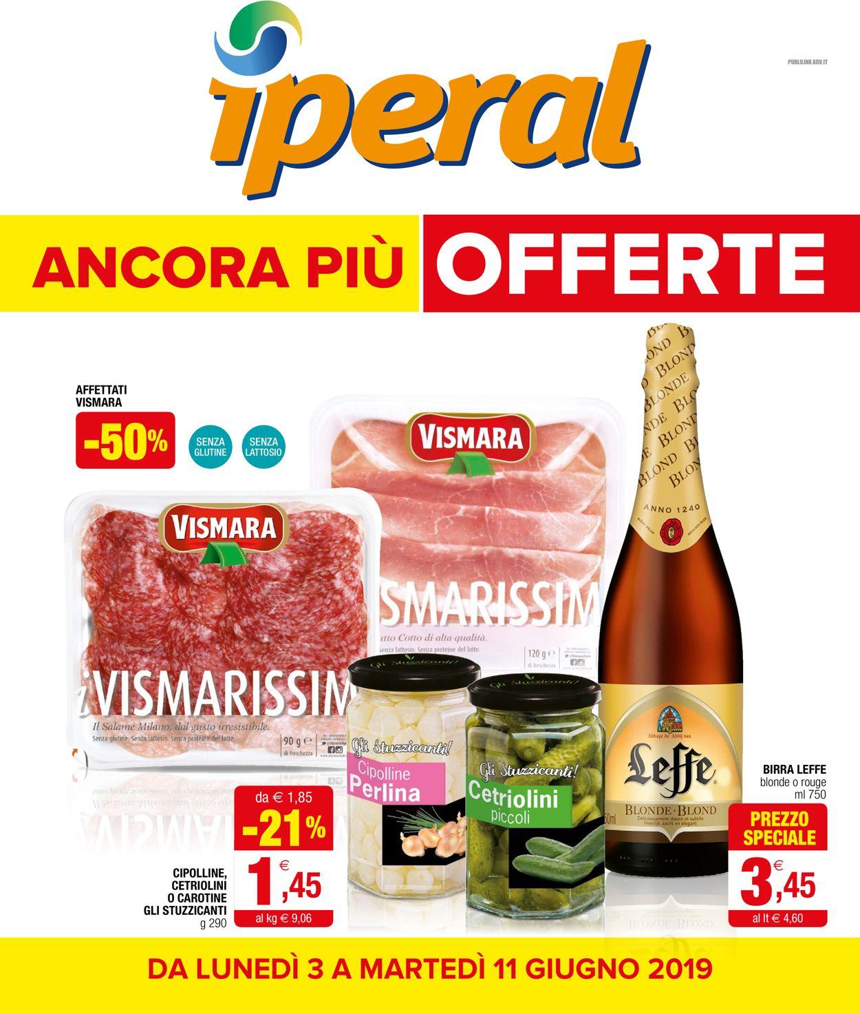 Volantino Iperal - Offerte 03/06-11/06/2019