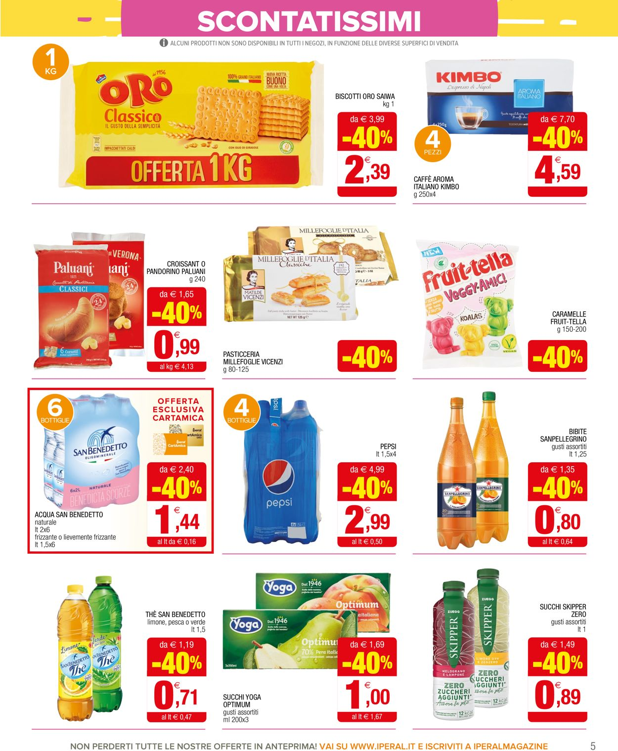 Volantino Iperal - Offerte 10/07-23/07/2019 (Pagina 5)