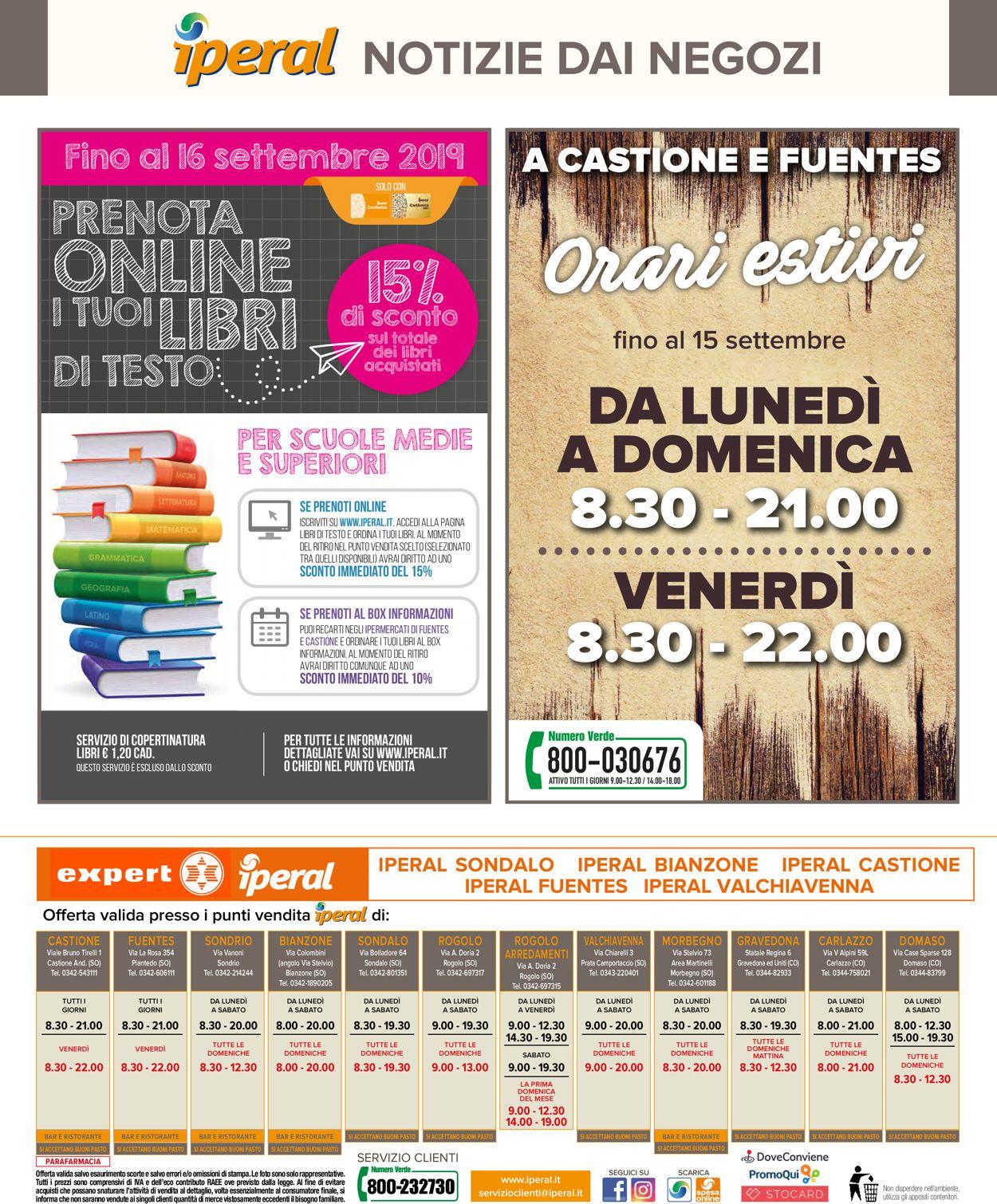Volantino Iperal - Offerte 10/07-23/07/2019 (Pagina 40)