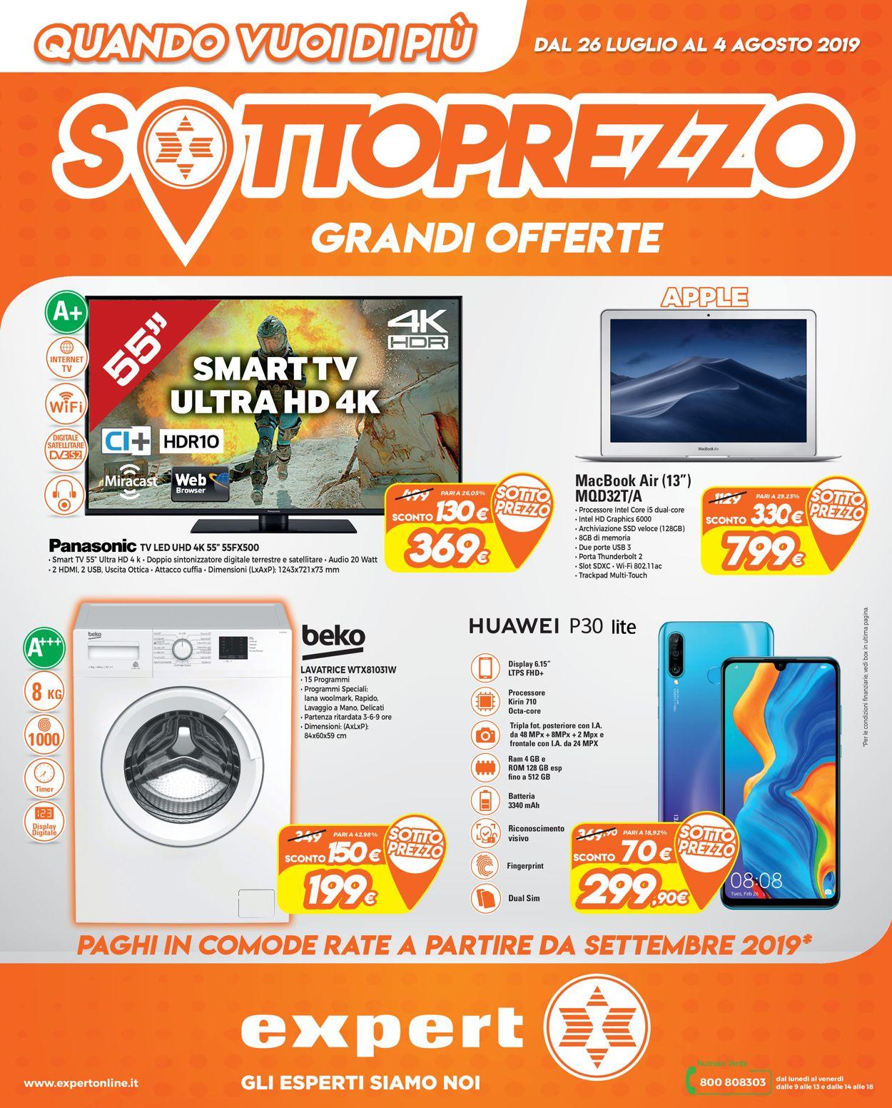 Volantino Iperal - Offerte 26/07-04/08/2019