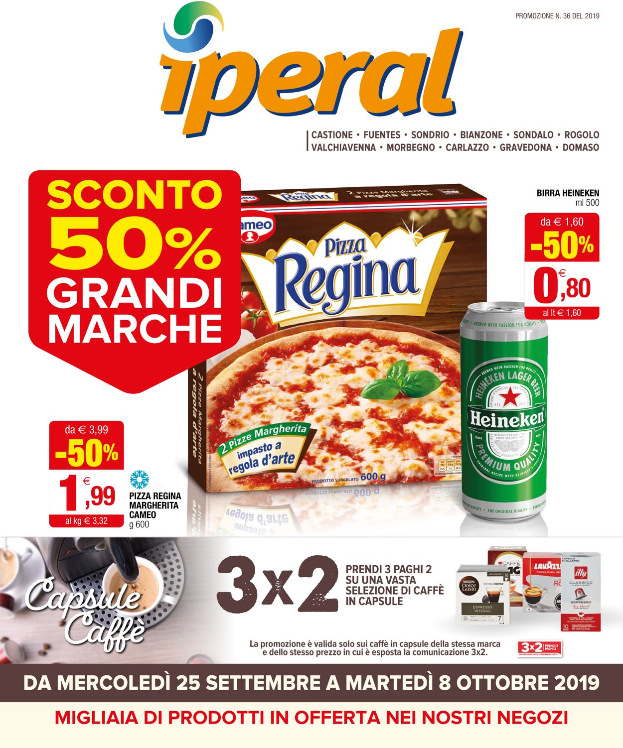 Volantino Iperal - Offerte 25/09-08/10/2019