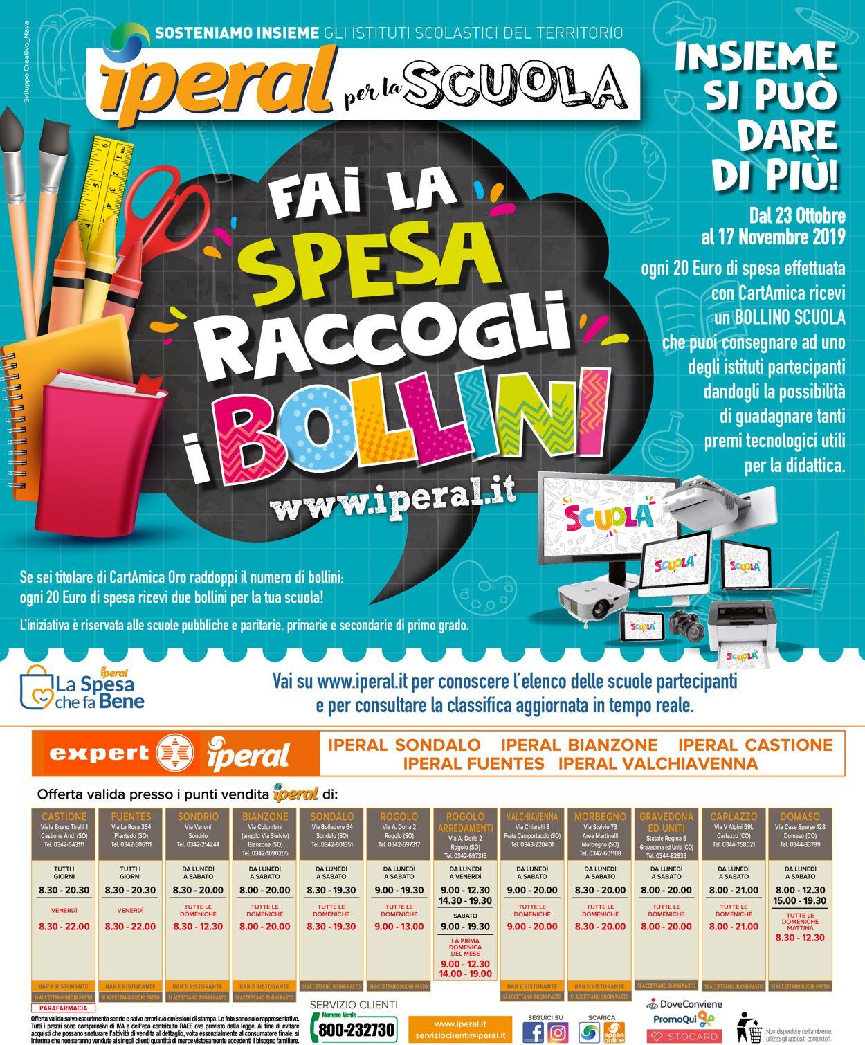 Volantino Iperal - Offerte 23/10-05/11/2019 (Pagina 40)