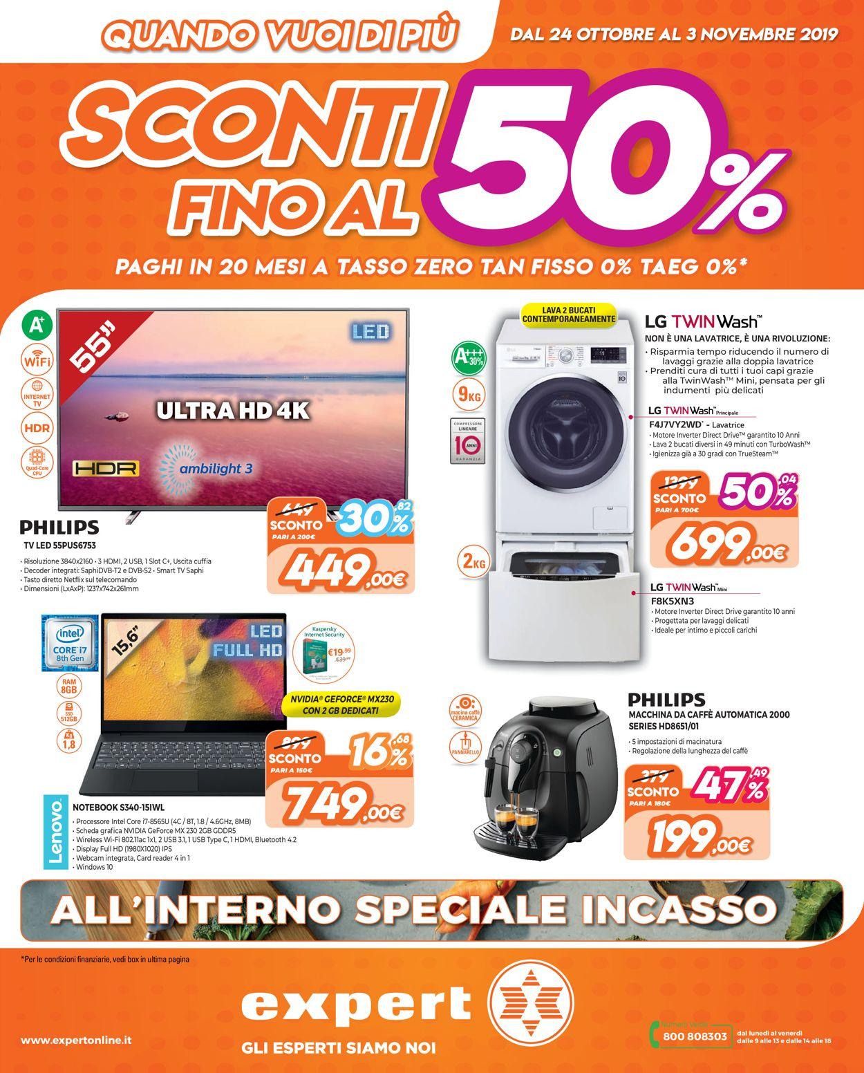 Volantino Iperal - Offerte 24/10-03/11/2019