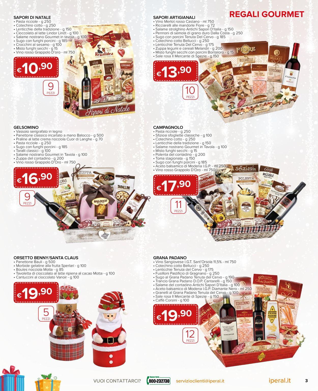 Volantino Il volantino natalizio di Iperal - Offerte 28/11-26/12/2019 (Pagina 3)