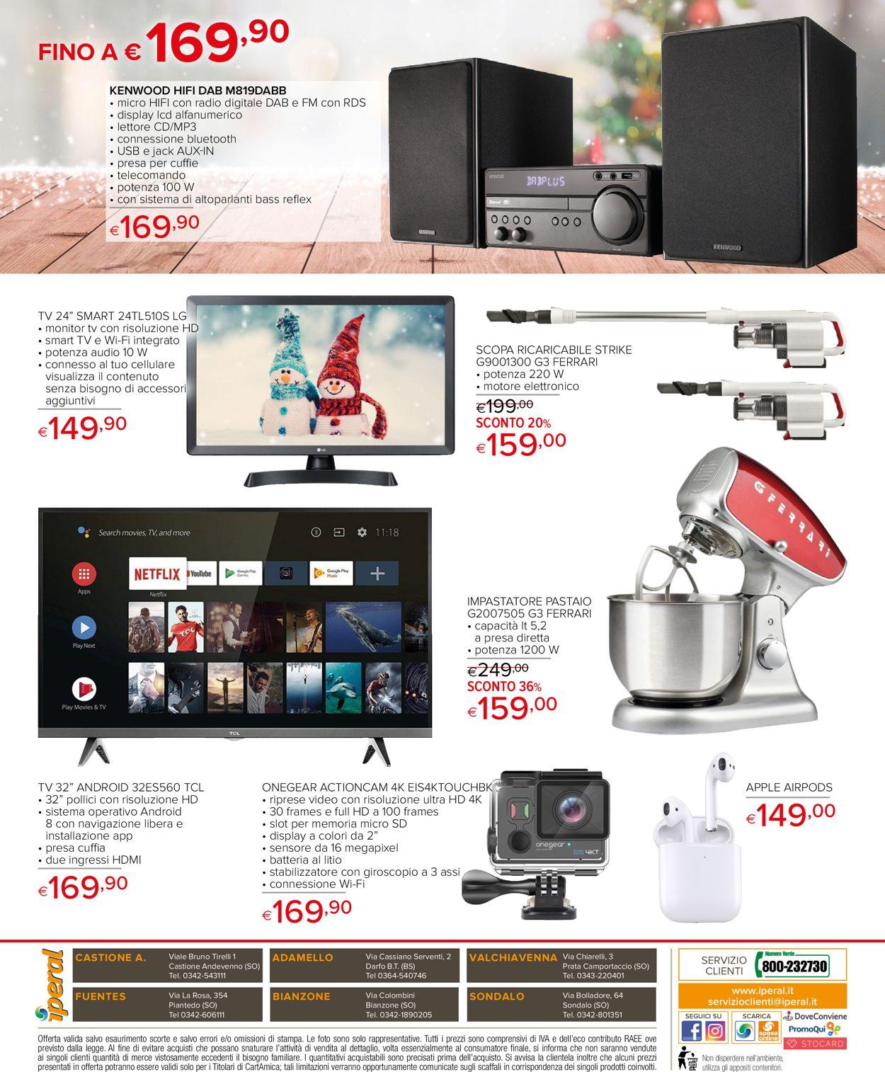 Volantino Il volantino natalizio di Iperal - Offerte 28/11-26/12/2019 (Pagina 48)