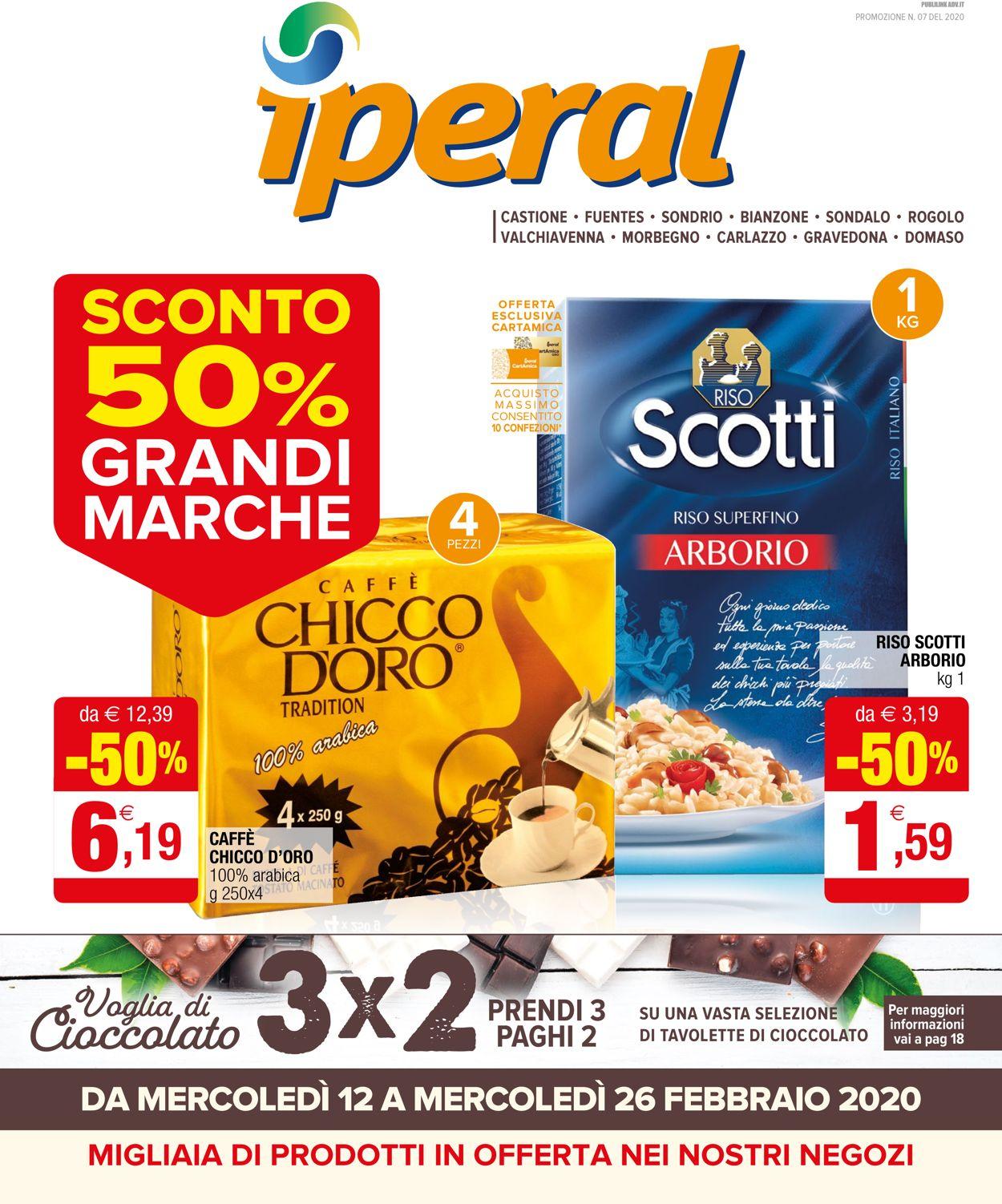 Volantino Iperal - Offerte 12/02-26/02/2020