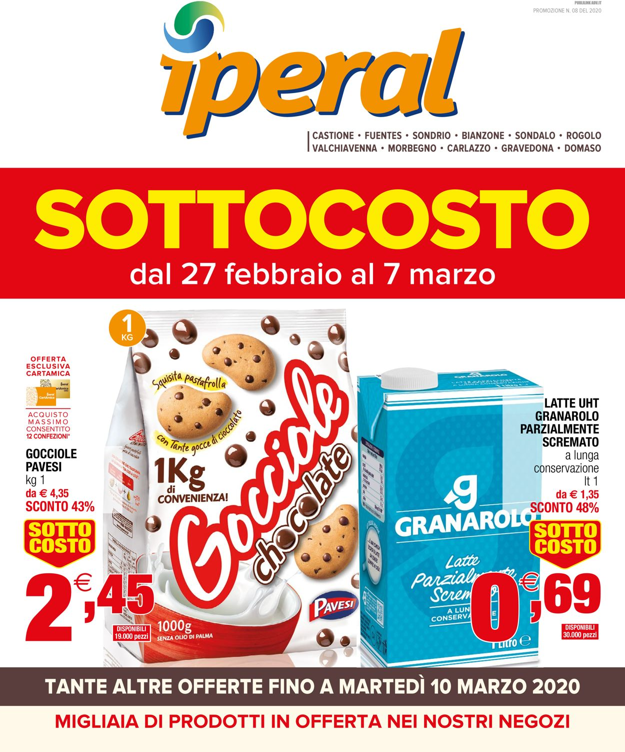 Volantino Iperal - Offerte 27/02-07/03/2020