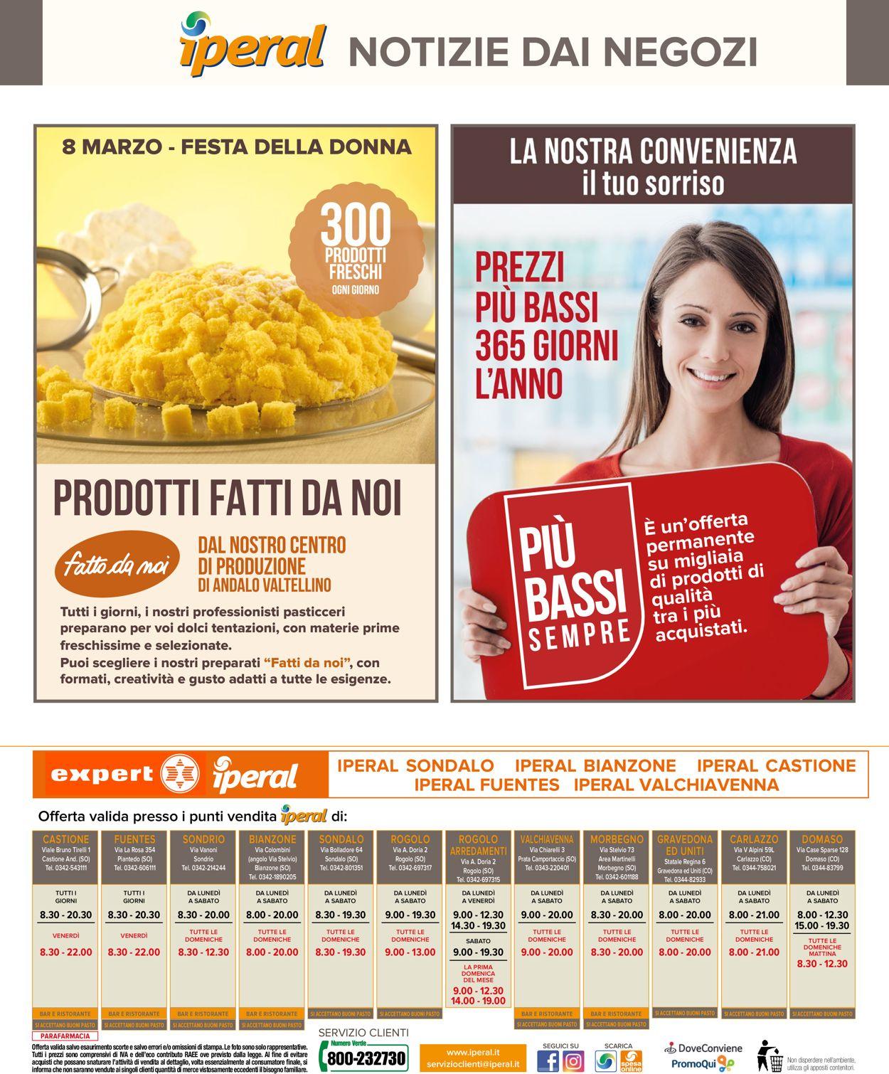 Volantino Iperal - Offerte 27/02-07/03/2020 (Pagina 40)