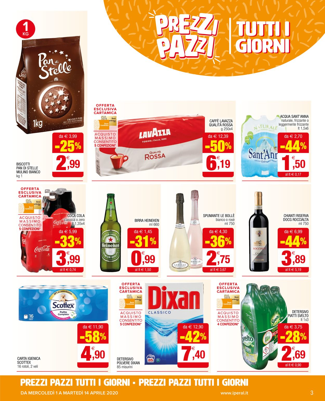 Volantino Iperal - Offerte 01/04-14/04/2020 (Pagina 3)