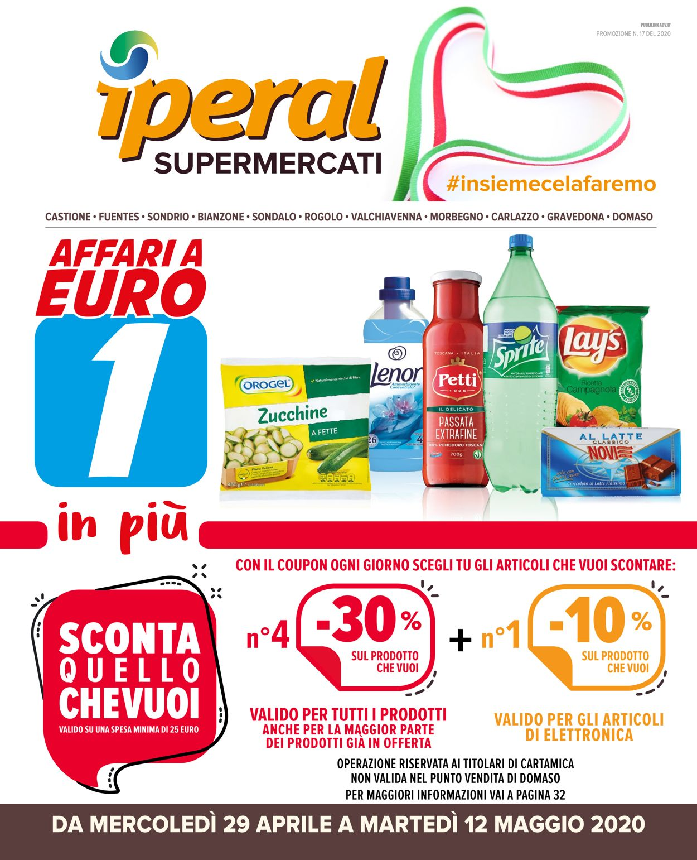 Volantino Iperal - Offerte 29/04-12/05/2020