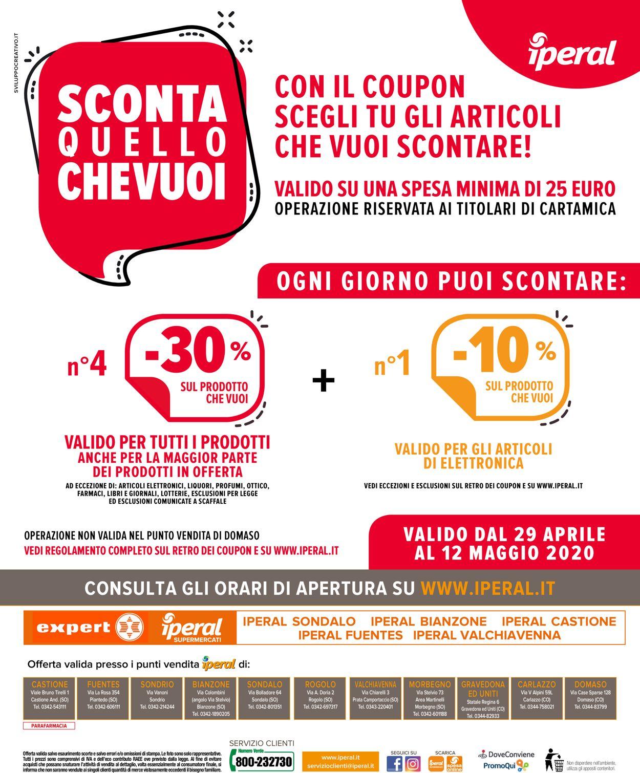 Volantino Iperal - Offerte 29/04-12/05/2020 (Pagina 32)