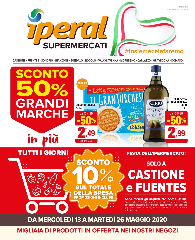 Volantino Iperal - Offerte 13/05-26/05/2020