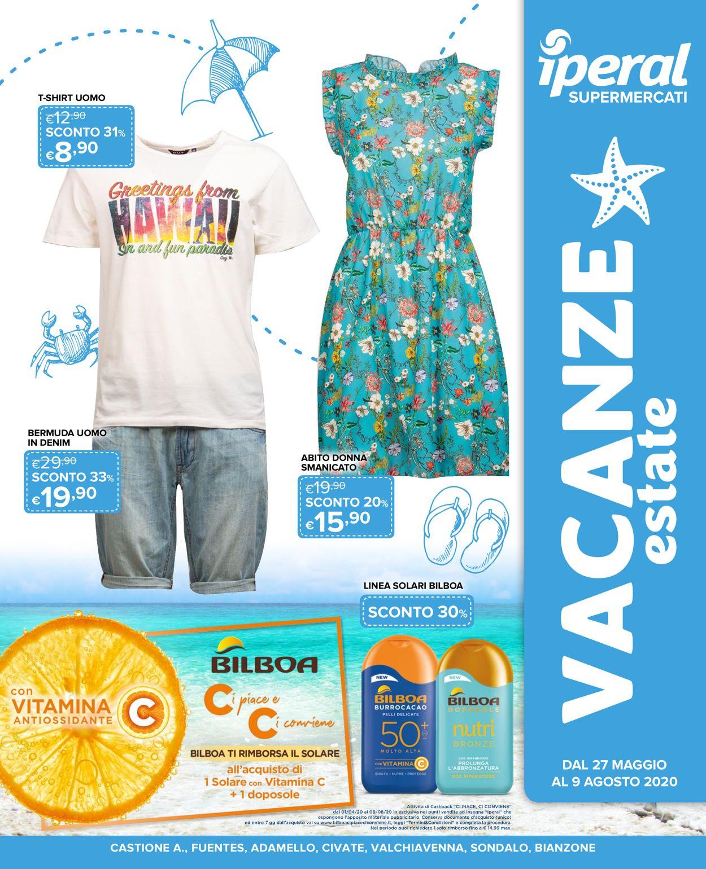 Volantino Iperal - Offerte 27/05-09/08/2020