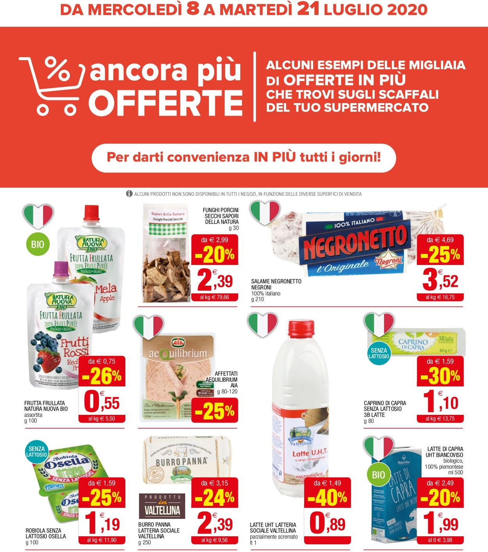 Volantino Iperal - Offerte 08/07-21/07/2020