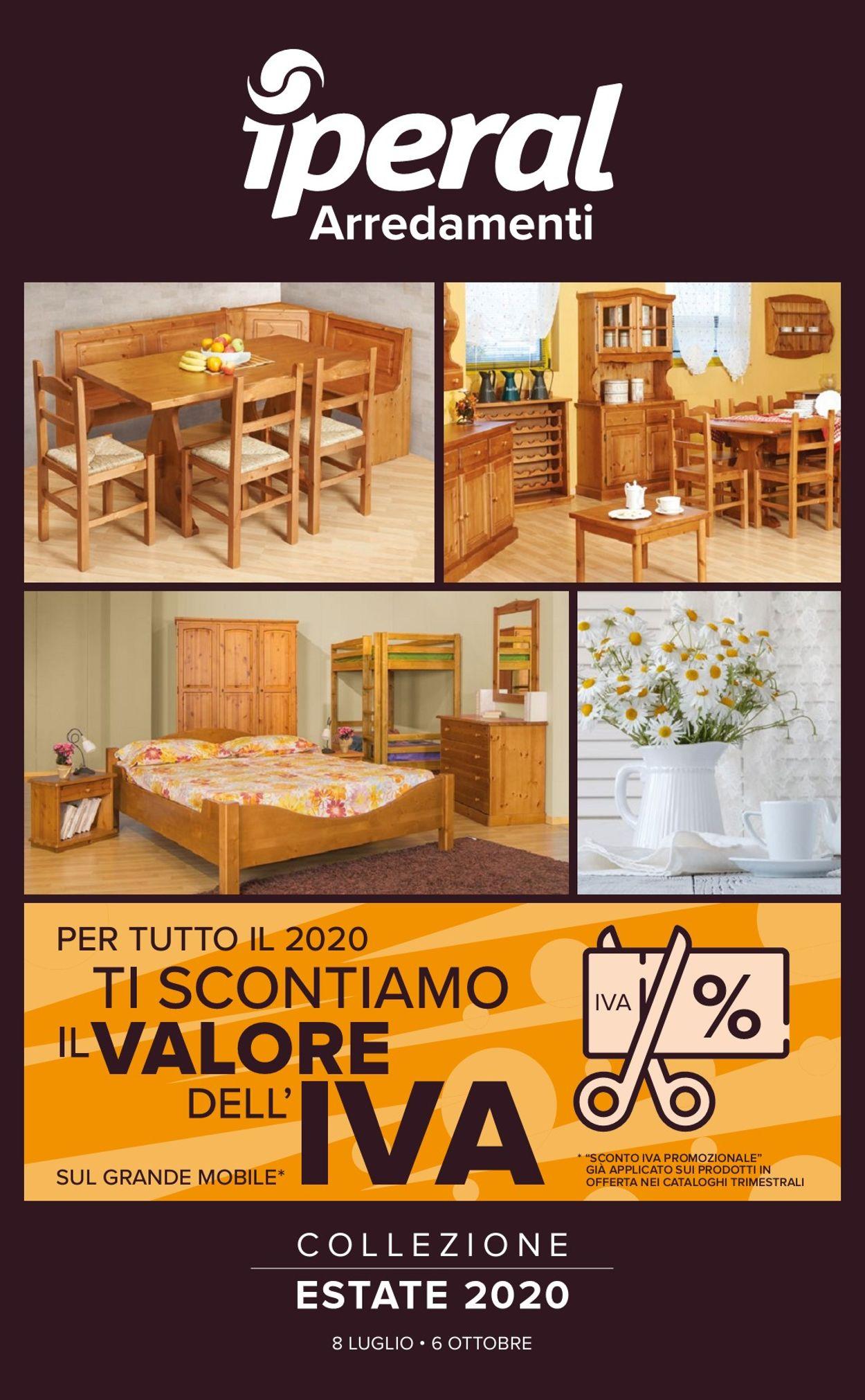 Volantino Iperal - Offerte 08/07-06/10/2020