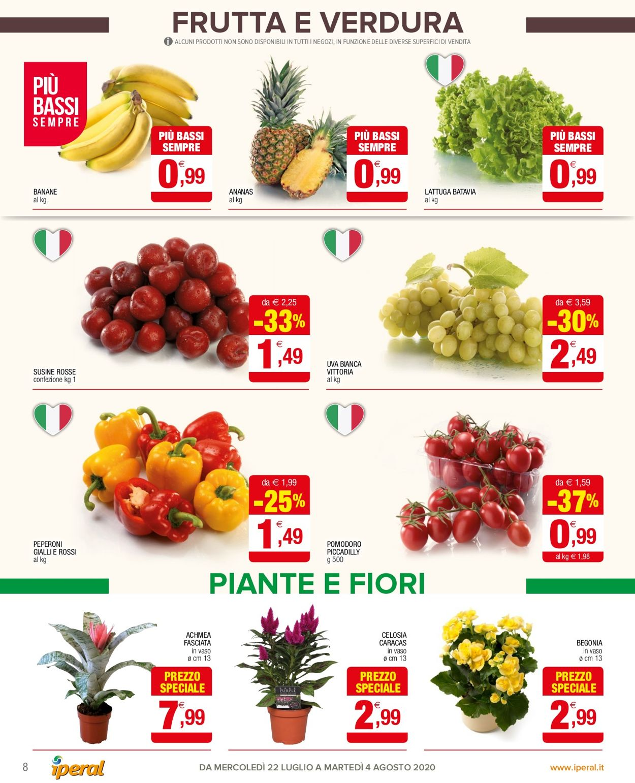 Volantino Iperal - Offerte 22/07-04/08/2020 (Pagina 8)